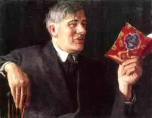 Игорь Грабарь. Портрет К.И.Чуковского